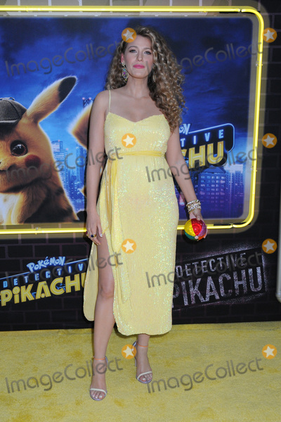 Blake Lively Photo - 02 May 2019 - New York New York - Blake Lively at the US Premiere of Pokmon Detective Pikachu on the Military Island in Times Square Photo Credit LJ FotosAdMedia