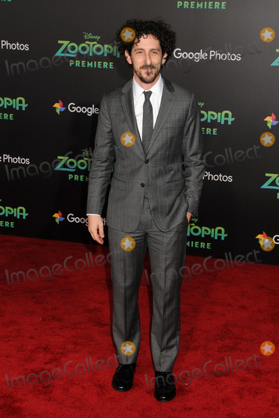 Adam Shapiro Photo - 17 February 2016 - Hollywood California - Adam Shapiro Zootopia Los Angeles Premiere held at the El Capitan Theatre Photo Credit Byron PurvisAdMedia