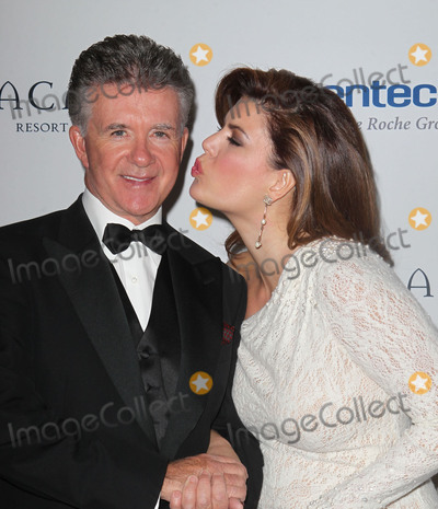 Alan Thicke Photo - 13 December 2016 - Burbank California - Alan Thicke beloved TV dad and real-life father of RB and pop superstar Robin Thicke died Tuesday at age 69 of a heart attack while playing hockey with his 19 year-old son Carter Thicke File Photo 16 November 2012 - Santa Barbara California - Alan Thicke and wife Tanya Callau The Dream Foundations 11th Annual Celebration of Dreams Gala Held At The Bacara Resort  Spa Photo Credit Kevan BrooksAdMedia