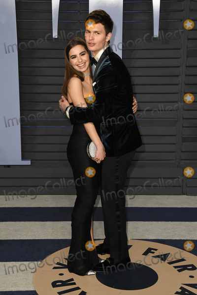 Ansel Elgort Photo - 04 March 2018 - Los Angeles California - Ansel Elgort Violetta Komyshan 2018 Vanity Fair Oscar Party following the 90th Academy Awards held at the Wallis Annenberg Center for the Performing Arts Photo Credit Birdie ThompsonAdMedia