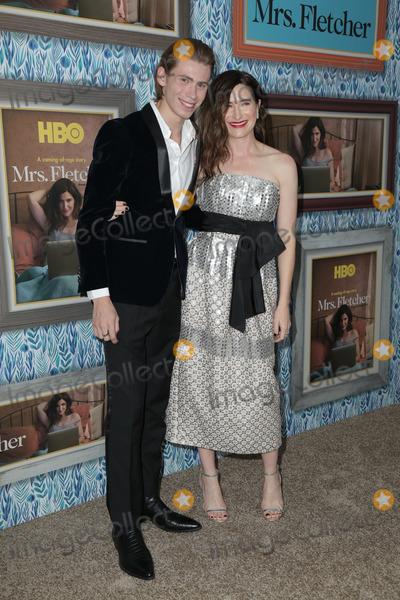 Kathryn Hahn Photo - 21 October  2019 - Los Angeles California - Kathryn Hahn Owen Teague Premiere Of HBOs Mrs Fletcher held at Avalon Hollywood Photo Credit PMAAdMedia