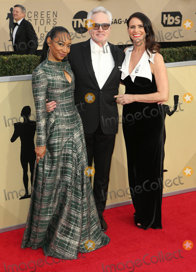 Amy Landecker Photo - 21 January 2018 - Los Angeles California - Betty Gabriel Bradley Whitford Amy Landecker 24th Annual Screen Actors Guild Awards held at The Shrine Auditorium Photo Credit RetnaAdMedia