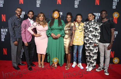 Asante Blackk Photo - 11 August 2019 - Los Angeles California - Kris Bowers Jharrel Jerome Niecy Nash Ava DuVernay Marsha Stephanie Blake Asante Blackk Aunjanue Ellis Ethan Herisse When They See Us for your consideration Los Angeles 2019 - Day 1 held at Paramount Theatre Photo Credit FSadouAdMedia