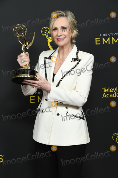 Jane Lynch Photo - 15 September 2019 - Los Angeles California - Jane Lynch 2019 Creative Arts Emmys Awards -- Press Room held at Microsoft Theater LA Live Photo Credit Birdie ThompsonAdMedia