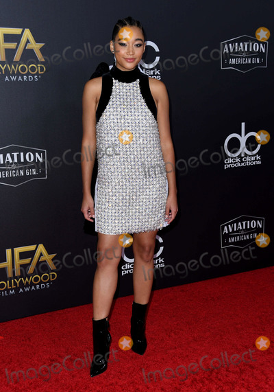 Amandela Stenberg Photo - 04 November 2018 - Beverly Hills California - Amandela Stenberg 22nd Annual Hollywood Film Awards held at Beverly Hilton Hotel Photo Credit Birdie ThompsonAdMedia
