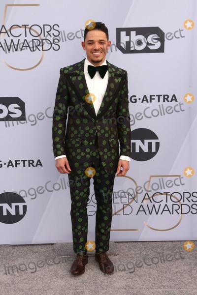 Anthony Ramos Photo - 27 January 2019 - Los Angeles California - Anthony Ramos 25th Annual Screen Actors Guild Awards held at The Shrine Auditorium Photo Credit Faye SadouAdMedia