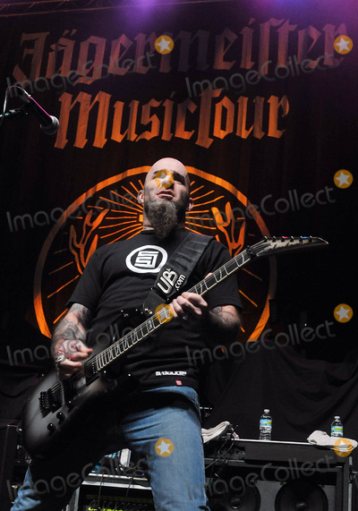 Anthrax Photo - 08 February 2011 - Youngstown OH - Guitarist SCOTT IAN (of the 80s thrash metal band ANTHRAX fame) performs with his new heavy metal supergroup THE DAMN THINGS at a stop on the Jagermeister Music Tour 2011 held at the Covelli Centre Photo Credit Jason L NelsonAdMedia