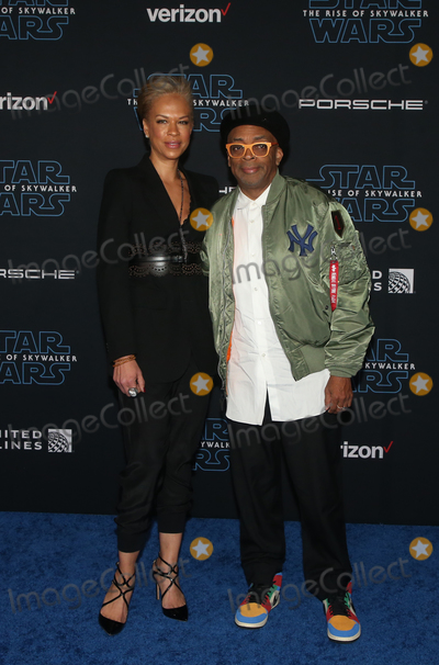 Spike Lee Photo - 16 December 2019 - Hollywood California - Tonya Lewis Lee Spike Lee Premiere Of Disneys Star Wars The Rise Of Skywalker  held at El Capitan theatre Photo Credit FSAdMedia