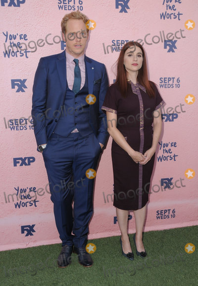 Aya Cash Photo - 29 August  2017 - Los Angeles California - Chris Geere Aya Cash FXXs Youre the Worst Season Four Premiere held at Museum of Ice Cream in Los Angeles Photo Credit Birdie ThompsonAdMedia