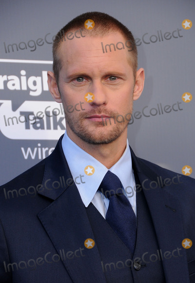 Alexander Skarsgard Photo - 11 January 2018 - Santa Monica California - Alexander Skarsgard 23rd Annual Critics Choice Awards held at Barker Hangar Photo Credit Birdie ThompsonAdMedia