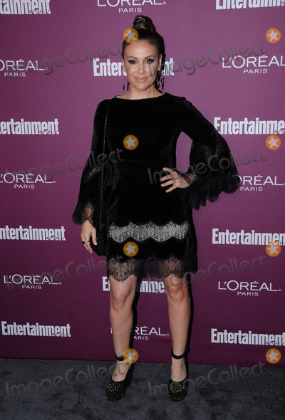 Alyssa Milano Photo - 15 September  2017 - Hollywood California - Alyssa Milano 2017 Entertainment Weekly Pre-Emmy Party held at The Sunset Tower Hotel in Hollywood Photo Credit Birdie ThompsonAdMedia