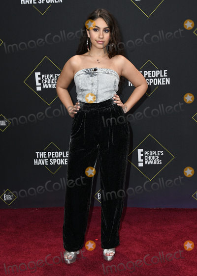 Alessia Cara Photo - 10 November 2019 - Santa Monica California - Alessia Cara 2019 Peoples Choice Awards held at Barker Hangar Photo Credit Birdie ThompsonAdMedia