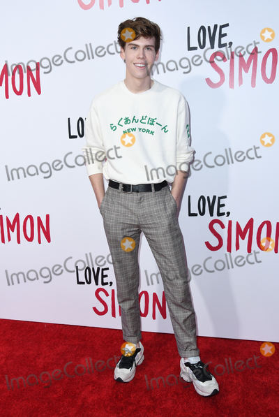 Aidan Alexander Photo - 13 March 2018 - Culver City California - Aidan Alexander Love Simon Los Angeles Special Screening held at Westfield Century City Photo Credit Birdie ThompsonAdMedia