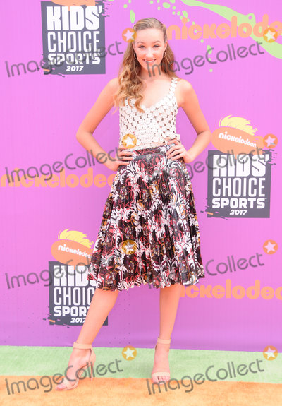 Ava Cota Photo - 13 July 2017 - Los Angeles California - Ava Cota Nickelodeon Kids Choice Sports Awards 2017 held at the Pauley Pavilion in Los Angeles Photo Credit Birdie ThompsonAdMedia