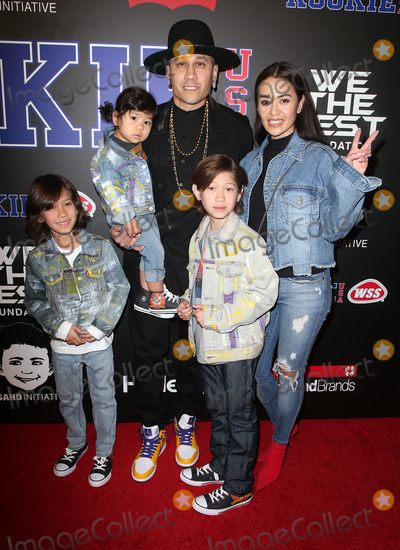 Taboo Photo - 15 February 2018 - Los Angeles California - Taboo Jaymie Dizon and children Rookie USA Fashion Show held at MILK Studios Photo Credit F SadouAdMedia