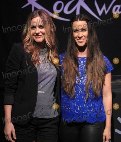 Alanis Morissette Photo - 21 August 2012 - Hollywood California - Alicia Silverstone Alanis Morissette Hollywoods RockWalk Induction Ceremony Honoring Alanis Morrissette Held at Guitar Center Photo Credit Kevan BrooksAdMedia