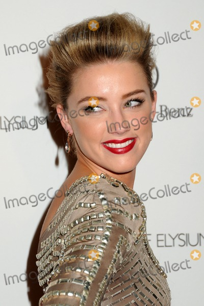 Amber Heard Photo - 15 January 2011 - Los Angeles California - Amber Heard 2011 Art Of Elysium Heaven Gala held at the California Science Center Photo Byron PurvisAdMedia