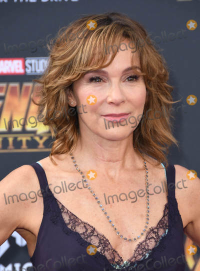 Jennifer Grey Photo - 23 April 2018 -  Hollywood California - Jennifer Grey Disney and Marvels Avengers Infinity War Los Angeles Premiere held at Dolby Theater Photo Credit Birdie ThompsonAdMedia