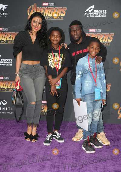 Kevin Hart Photo - 23 April 2018 - Hollywood California - Kevin Hart Family Disney and Marvels Avengers Infinity War Los Angeles Premiere held at Dolby Theater Photo Credit F SadouAdMedia