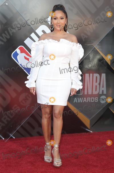 Adrienne Houghton Photo - 25 June 2018 - Santa Monica California - Adrienne Bailon Adrienne Houghton 2018 NBA Awards held at Barker Hangar Photo Credit PMAAdMedia