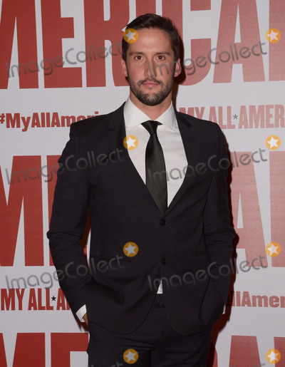 Juston Street Photo - 09 November - Los Angeles Ca - Juston Street Arrivals for the Los Angeles premiere of My All American held TPacific Theaters at The Grove Photo Credit Birdie ThompsonAdMedia
