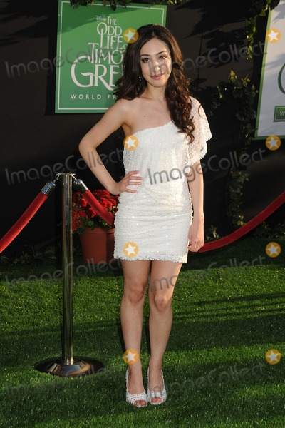 Ainsley Bailey Photo - 6 August 2012 - Hollywood California - Ainsley Bailey The Odd Life of Timothy Green Los Angeles Premiere Photo Credit Byron PurvisAdMedia