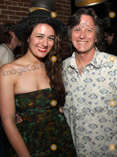 Jeff Hanna Photo - July 26 2011 - Nashville TN - Alyssa Bonagura and Jeff Hanna Artists musicians and songwriters came together at Mercy Lounge to help raise funds for Pete Huttlinger a widely respected guitarist and Nashville studio artist  Huttlinger has a congenital heart disease and is in need of a heart transplant Photo credit Dan HarrAdmedia