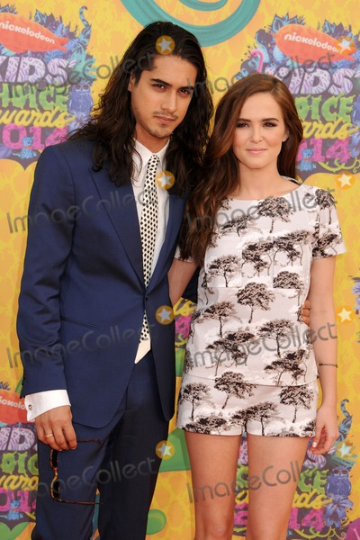 Avan Jogia Photo - 29 March 2014 - Los Angeles California - Avan Jogia Zoey Deutch 27th Annual Nickelodeon Kids Choice Awards held at the USC Galen Center Photo Credit Byron PurvisAdMedia