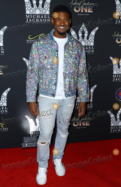 Usher Photo - 29 August 2018 - Las Vegas NV -  Usher   Michael Jackson diamond birthday celebration at Mandalay Bay Resort and Casino Photo Credit MJTAdMedia