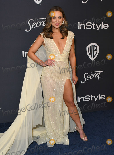 Hannah Brown Photo - 05 January 2020 - Beverly Hills California - Hannah Brown 21st Annual InStyle and Warner Bros Golden Globes After Party held at Beverly Hilton Hotel Photo Credit Birdie ThompsonAdMedia