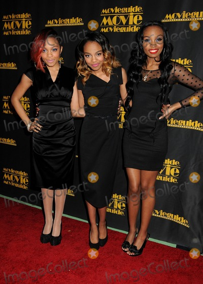 McClain Sisters Photo - 15 February 2013 - Universal City California - Sierra McClain China Anne McClain Lauryn McClain McClain Sisters 21st Annual Movieguide Awards held at the Hilton Universal City Photo Credit Byron PurvisAdMedia
