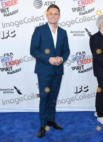 Billy Magnussen Photo - 03 March 2018 - Santa Monica California - Billy Magnussen 2018 Film Independent Spirit Awards -Arrivals held at the Santa Monica Pier Photo Credit Birdie ThompsonAdMedia