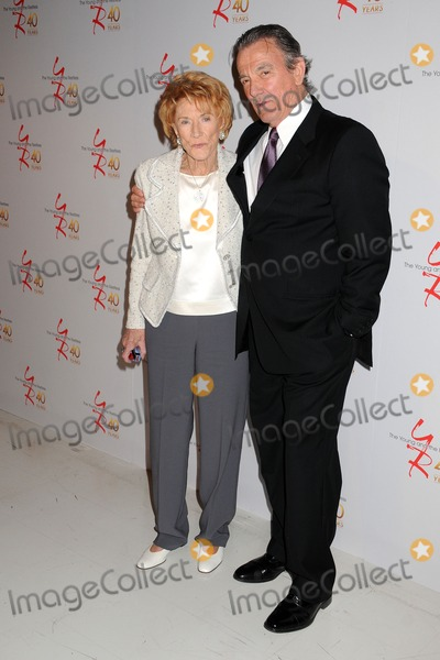 Jeanne Cooper Photo - 26 March 2013 - Los Angeles California - Jeanne Cooper Eric Braeden The Young  The Restless 40th Anniversary Celebration held at CBS Television City Photo Credit Byron PurvisAdMedia
