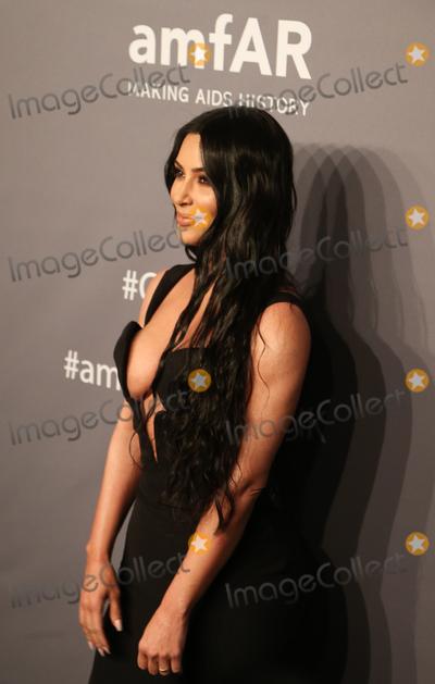Milla Jovovich Photo - 06 February 2019 - New York NY - Kim Kardashian 21st Annual amfAR Gala New York benefit for AIDS research during New York Fashion Week held at Cipriani Wall Street Photo Credit Debby WongAdMedia