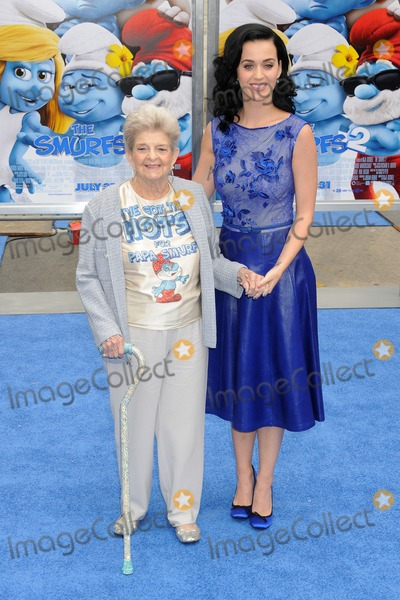 Ann Hudson Photo - 28 July 2013 - Westwood California - Ann Hudson Katy Perry Smurfs 2 Los Angeles Premiere held at the Regency Village Theatre Photo Credit Byron PurvisAdMedia