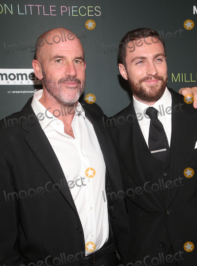 Taylor Johnson Photo - 4 December 2019 - West Hollywood California - James Frey Aaron Taylor-Johnson Special Screening Of Momentum Pictures A Million Little Pieces held at The London Hotel Photo Credit FSAdMedia