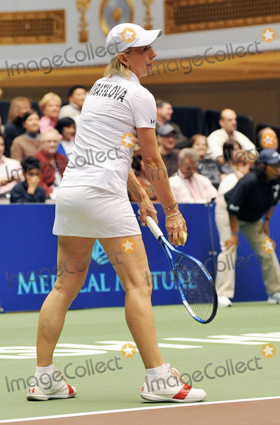 Amelie Mauresmo Photo - 27 October 2011 - Cleveland OH - Legendary tennis player MARTINA NAVRATILOVA participates in the annual World TeamTennis Smash Hits charity night of tennis in Cleveland for the first time in the events 19-year history Tennis greats Andy Roddick John McEnroe Amelie Mauresmo Coco Vandeweghe Jan-Michael Gambill and Cleveland area native Lauren Davisjoined other top players for WTT Smash Hits presented held at Public Hall Photo Credit Jason L NelsonAdMedia