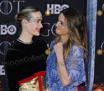 Amanda Peete Photo - 03 April 2019 - New York New York - Sarah Paulson and Amanda Peet at the NYC Red Carpet Premiere for final season of HBOs GAME OF THRONES at Radio City Music Hall Photo Credit LJ FotosAdMedia