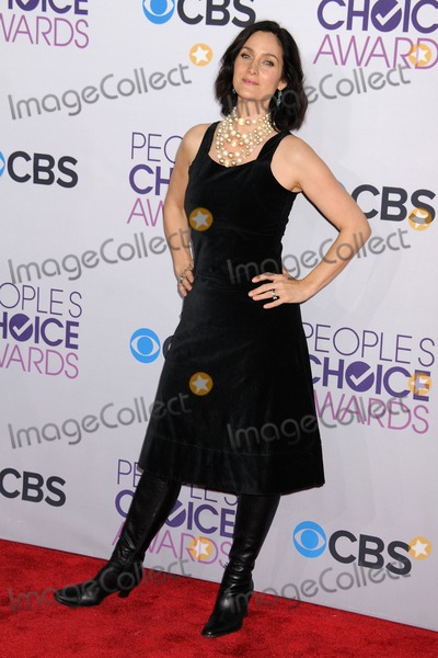 Carrie-Anne Moss Photo - 9 January 2013 - Los Angeles California - Carrie-Anne Moss Peoples Choice Awards 2013 - Arrivals held at Nokia Theatre LA Live Photo Credit Byron PurvisAdMedia