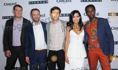 Adam Brody Photo - 23 August 2016 - West Hollywood California Ben Ketai Adam Brody Otmara Marrero Edi Gathegi Los Angeles Premiere of Crackles StartUp held at The London West Hollywood Photo Credit Birdie ThompsonAdMedia
