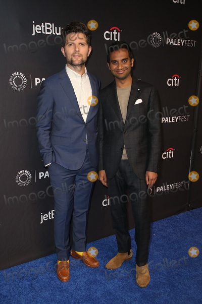 Aziz Ansari Photo - 21 March 2019 - Hollywood California - Aziz Ansari Adam Scott The Paley Center For Medias 2019 PaleyFest LA - Parks And Recreation 10th Anniversary Reunion held at The Wolf Theatre at The Dolby Theatre Photo Credit Faye SadouAdMedia