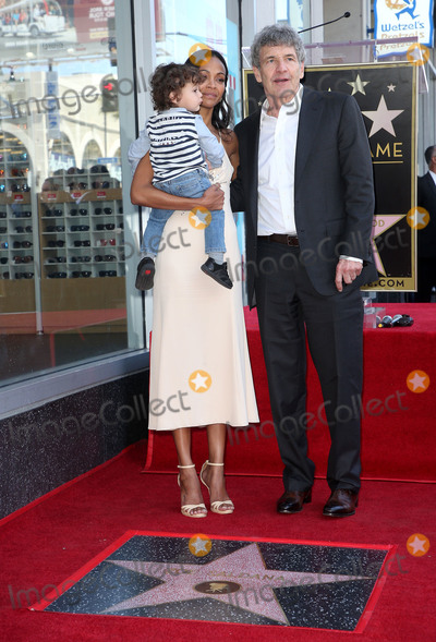 Alan Horne Photo - 03 May 2018 - Hollywood California - Zoe Saldana Alan Horn Bowie Ezio Perego-Saldana Zoe Saldana Honored With A Star On The Hollywood Walk Of Fame Photo Credit F SadouAdMedia