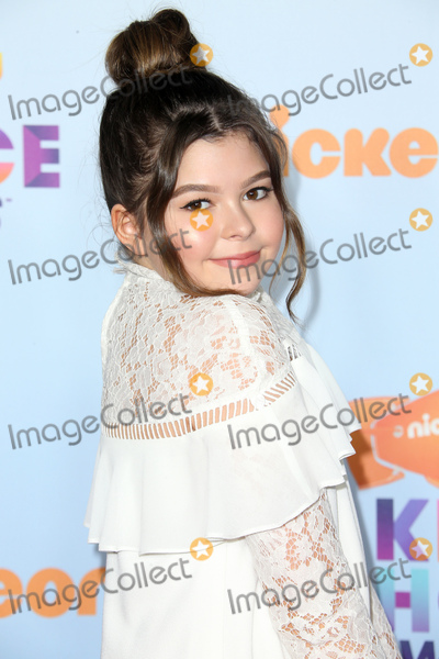 Addison Riecke Photo - 11 March 2017 -  Los Angeles California - Addison Riecke Nickelodeons Kids Choice Awards 2017 held at USC Galen Center Photo Credit Faye SadouAdMedia