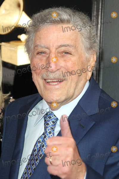 Tony Bennett Photo - 10 February 2019 - Los Angeles California - Tony Bennett 61st Annual GRAMMY Awards held at Staples Center Photo Credit AdMedia