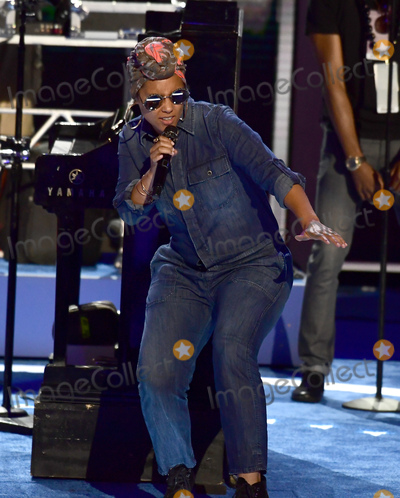 Alicia Keys Photo - Alicia Keys rehearses prior to her performance closing the second session of the 2016 Democratic National Convention at the Wells Fargo Center in Philadelphia Pennsylvania on Tuesday July 26 2016 Photo Credit Ron SachsCNPAdMedia