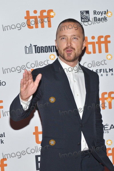 Aaron Paul Photo - 09 September 2018 - Toronto Ontario Canada -  Aaron Paul American Woman Premiere during 2018 Toronto International Film Festival at Princess of Wales Theatre Photo Credit Brent PerniacAdMedia