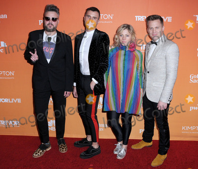 Neon Trees Photo - 03 December  2017 - Beverly Hills California - Neon Trees 2017 TrevorLIVE Los Angeles Gala held at The Beverly Hilton Hotel in Beverly Hills Photo Credit Birdie ThompsonAdMedia