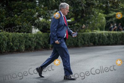 President Trump Photo - White House Chief of Staff Mark Meadows walks to board Marine One on the South Lawn of the White House in Washington DC USA 10 July 2020 President Trump will receive a briefing and deliver remarks on SOUTHCOM Enhanced Counternarcotics Operations and he will participate in a roundtable on Supporting the People of VenezuelaCredit Shawn Thew  Pool via CNPAdMedia