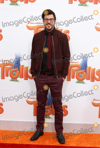 Christopher Mintz Plasse Photo - 23 October 2016 - Los Angeles California - Christopher Mintz-Plasse Trolls Los Angeles Premiere held at the Regency Village Theatre in Los Angeles Photo Credit AdMedia