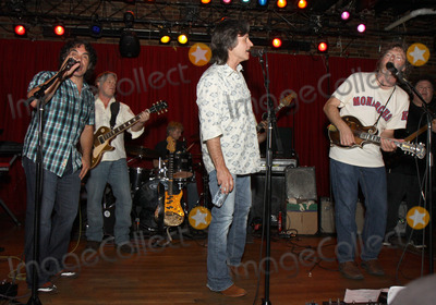 Jeff Hanna Photo - July 26 2011 - Nashville TN - (l-r) John Oates Jeff Hanna and Sam Bush Artists musicians and songwriters came together at Mercy Lounge to help raise funds for Pete Huttlinger a widely respected guitarist and Nashville studio artist  Huttlinger has a congenital heart disease and is in need of a heart transplant Photo credit Dan HarrAdmedia